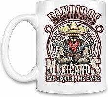 Bandidos mexicanos Kaffee Becher