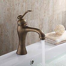 Bang Waschbecken Wasserhahn mit Messing antik Finish antiken Design Wasserhahn