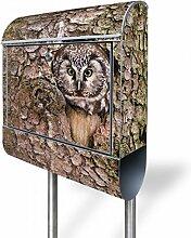 banjado - Briefkasten mit Edelstahl Ständer