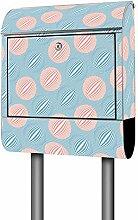 Banjado Design Briefkasten mit Motiv Bälle Blau