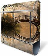 Banjado Design Briefkasten mit Motiv Englischer