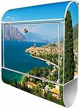 Banjado Design Briefkasten mit Motiv Gardasee |