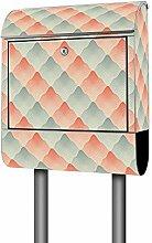 Banjado Design Briefkasten mit Motiv Op Art |