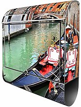 Banjado Design Briefkasten mit Motiv Venedig |