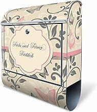 Banjado Design Briefkasten personalisiert mit