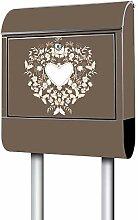Banjado Design Briefkasten personalisiert Motiv WT