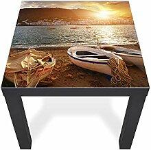 banjado Glas Abdeckplatte Tisch 55x55cm |