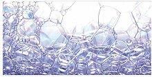 banjado Glas Nischenrückwand für Küche 100cm x