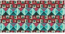 banjado Glas Nischenrückwand für Küche 120cm x