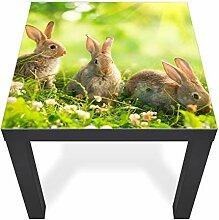 banjado Glasplatte für IKEA Lack Tisch 55x55cm |