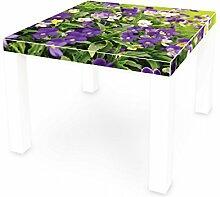 banjado Möbelaufkleber für Ikea Lack Tisch