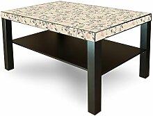 banjado Möbelaufkleber Ikea Lack Tisch