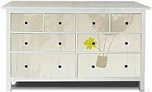 banjado Möbelaufkleber passend für IKEA Hemnes