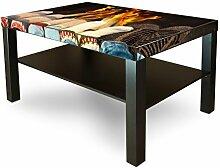 banjado Möbelsticker für Ikea Lack Tisch 90x55cm