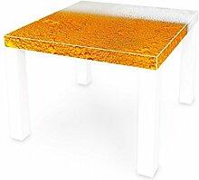 banjado Möbelsticker Ikea Lack Tisch Möbelfolie