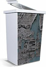 banjado - Mülleimer Design Abfalleimer 42 Liter