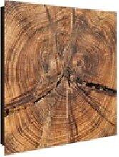 banjado Schlüsselkasten Motiv Jahresringe, 30 cm
