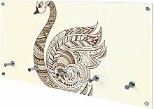 banjado Wandgarderobe aus Echtglas | Design