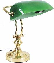 Banker-Lampe, grün