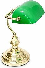 Bankerlampe Bankers Lampe Banker Schreibtischlampe