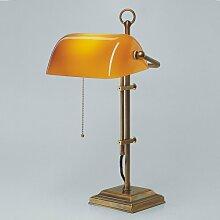 Bankerlampe Schreibtischlampe Berliner Messing