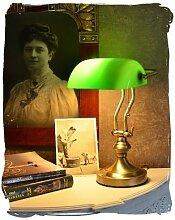 Bankerleuchte Jugendstil wie anno 1900 Bankerlampe