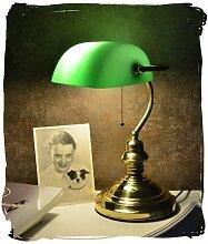 Bankers-Lamp Schreibtischlampe Banker-Lampe