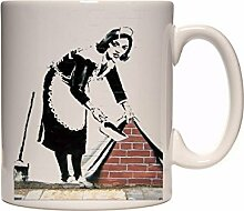 Banksy Mug HOXTON BEAUTY Ceramic Cup Gift Box
