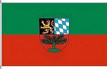 Bannerflagge Weiden idOPf - 150 x 500cm - Flagge