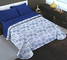 Banzaii Bettüberwurf für Doppelbett (260 x 260