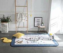 Baobe Baby Kinderteppich,Spielmatte Baumwolle