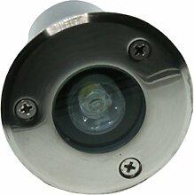 Baoblaze 1W LED Bodeneinbaustrahler 230V