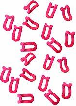 Baoblaze 20x Mini Kleider Rack Kleiderbügel Haken