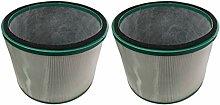 Baoblaze 2pcs Universal Baumwolle Hepa Filter