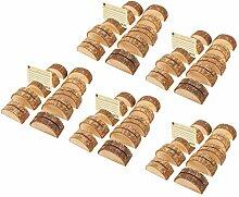 Baoblaze 50x Halbrundform Kartenhalter