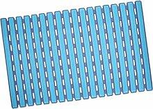 Baoblaze Duschmatte Badematte Badewannenmatte rutschfest Matte,Fünf Farbwahl - Blau