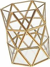 Baoblaze Einzigartige Glas Geometrische Dekoration