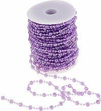 Baoblaze Farbwahl Perlenband Perlengirlande
