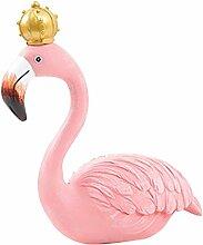 Baoblaze Flamingo Dekofigur Figur Modell