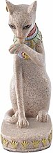 Baoblaze Gartenfigur Katze Tierfigur Garten Deko