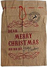 Baoblaze Großer Weihnachtssack Nikolaussack 70 x
