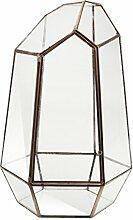 Baoblaze Irreguläre Glas klar Geometrische
