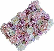 Baoblaze Künstliche Blumen Säule Blumenwand