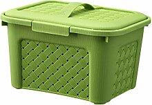 Baoblaze Plastik Aufbewahrungsbox mit Deckel -