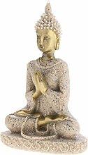 Baoblaze Sandstein Ganesha Buddha Elefanten Statue