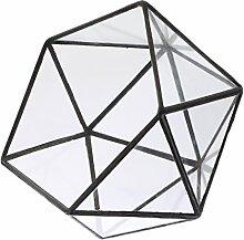 Baoblaze Unregelmäßige Geometrische Glas