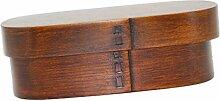 Baoblaze Vintage Lunchbox Brotdose Bento-Box mit