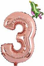 Baoblaze Zahlen Folienballon Luftballon mit