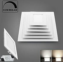 BAODE Dimmbar 12W Lochgröße 150mm LED Panel