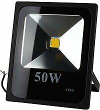BAODE LED Fluter 50W Naturweiß LED-Strahler Ultraheller IP65 Wasserdicht Floodlight LED Scheinwerfer 4500LM